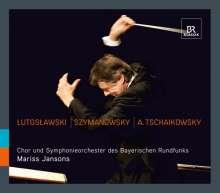 Mariss Jansons dirigiert das Symphonieorchester des Bayerischen Rundfunks, CD