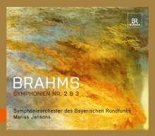 Johannes Brahms (1833-1897): Symphonien Nr.2 & 3, CD