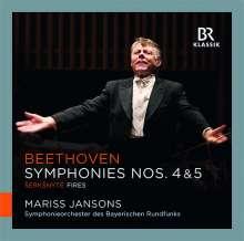 Ludwig van Beethoven (1770-1827): Symphonien Nr. 4 & 5, CD