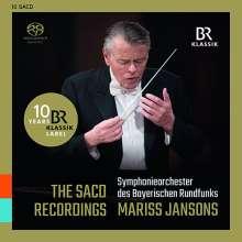 Mariss Jansons & Das Symphonieorchester des Bayerischen Rundfunks - The SACD Recordings, 10 Super Audio CDs