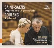 Francis Poulenc (1899-1963): Konzert für Orgel, Streicher & Pauken, CD