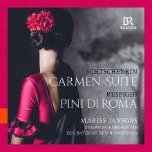 Rodion Schtschedrin (geb. 1932): Carmen-Suite für Schlagzeug & Streicher, CD