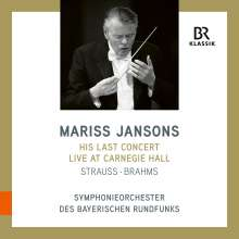 Mariss Jansons - His last Concert, Carnegie Hall 8.11.2019, CD