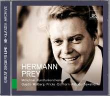 Hermann Prey - Great Singer live, CD