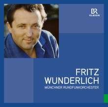 Fritz Wunderlich - Oper, Operette, Film (Unveröffentlichte Rundfunkaufnahmen) (180g), LP