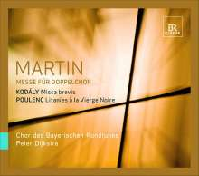 Frank Martin (1890-1974): Messe für 2 vierstimmige Chöre, Super Audio CD