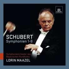Franz Schubert (1797-1828): Symphonien Nr.1-8, 3 CDs