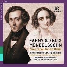Fanny und Felix Mendelssohn - Zwei Leben für die Musik (Eine Hörbiografie von Jörg Handstein), CD