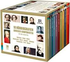 10 Hörbiografien großer Komponisten von Jörg Handstein, 38 CDs