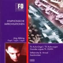 Jörg Abbing (geb. 1969): Symphonische Improvisationen, CD