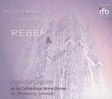 Jehan Alain (1911-1940): Fantasien für Orgel Nr.1 & 2, CD