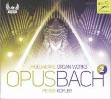 "Johann Sebastian Bach (1685-1750): Orgelwerke ""OpusBach"" Vol.2, CD"
