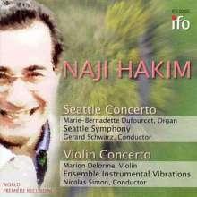 Naji Hakim (geb. 1955): Seattle Concerto für Orgel & Orchester, CD
