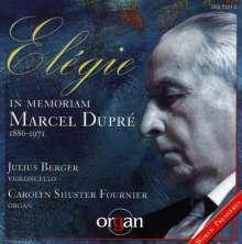 Musik für Cello & Orgel, CD