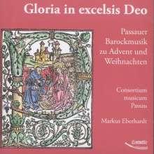 Gloria in excelsis Deo - Passauer Barockmusik zu Advent und Weihnachten, CD