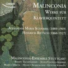 Alexander Maria Schnabel (1889-1969): Klavierquintett C-Dur op.17, CD