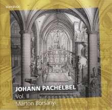 Johann Pachelbel (1653-1706): Werke für Orgel & Cembalo Vol.2, CD