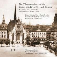 Der Thomanerchor & die Universitätskirche St.Pauli Leipzig, CD
