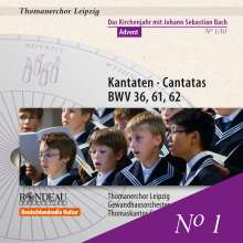 Thomanerchor Leipzig - Das Kirchenjahr mit Bach Vol.1, CD