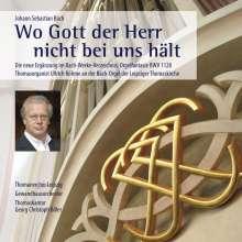 """Johann Sebastian Bach (1685-1750): Kantate BWV 178 """"Wo Gott der Herr nicht bei uns hält"""", CD"""