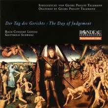 Georg Philipp Telemann (1681-1767): Der Tag des Gerichts, CD