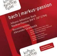 Johann Sebastian Bach (1685-1750): Markus-Passion nach BWV 247, 2 CDs