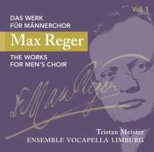 Max Reger (1873-1916): Das Werk für Männerchor Vol.1, CD