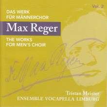 Max Reger (1873-1916): Das Werk für Männerchor Vol.2, CD