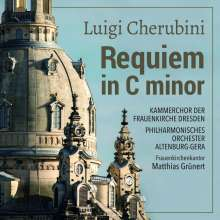 Luigi Cherubini (1760-1842): Requiem c-moll, CD