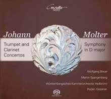 Johann Melchior Molter (1696-1765): Trompetenkonzerte Nr.1-3 MWV IV Nr.12-14, Super Audio CD