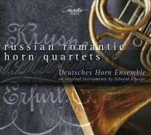 Deutsches Horn Ensemble - Russian Romantic Horn Quartets, CD