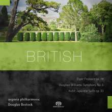 British, Super Audio CD