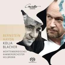 Leonard Bernstein (1918-1990): Serenade für Violine,Streicher,Harfe,Schlagzeug, Super Audio CD