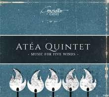 Atea Quintet - Music For Five Winds, CD