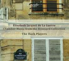 Elisabeth-Claude Jacquet de la Guerre (1665-1729): Kammermusik aus der Brossard Collection, CD