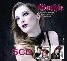 Gothic Compilation 18 + 28 + Bonus, 5 CDs
