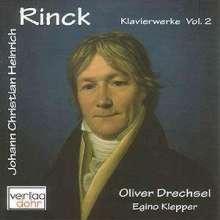 Johann Christian Heinrich Rinck (1770-1846): Klavierwerke Vol.2, CD