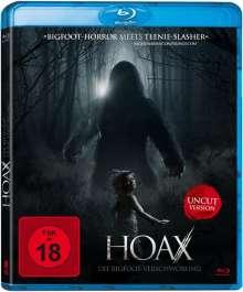 Hoax - Die Bigfoot-Verschwörung (Blu-ray), Blu-ray Disc