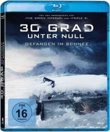30 Grad unter Null - Gefangen im Schnee (Blu-ray), Blu-ray Disc