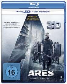 Arès (3D Blu-ray), Blu-ray Disc