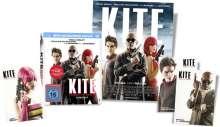 Kite - Engel der Rache (Blu-ray & DVD im Mediabook), 1 Blu-ray Disc und 1 DVD