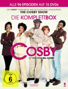 Cosby (Komplette Serie), 15 DVDs