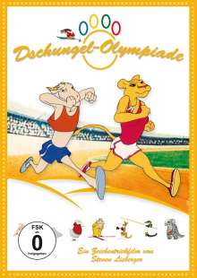 Dschungel-Olympiade, DVD