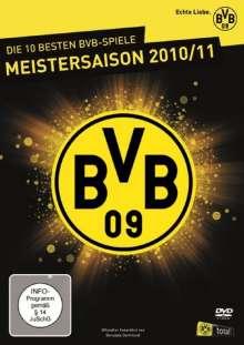 Fußball: Die 10 besten BVB-Spiele - Meistersaison 2010/11, 5 DVDs