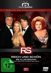 Reich und Schön Box 2: Wie alles begann, 5 DVDs