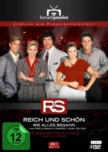 Reich und Schön Box 7: Wie alles begann, 5 DVDs