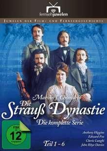 Die Strauß-Dynastie Teil 1-6, 4 DVDs