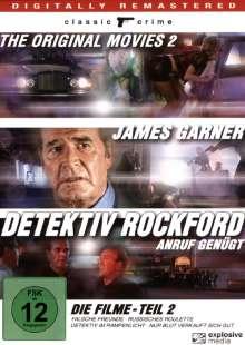 Detektiv Rockford - Anruf genügt: Die Filme Teil 2, 4 DVDs