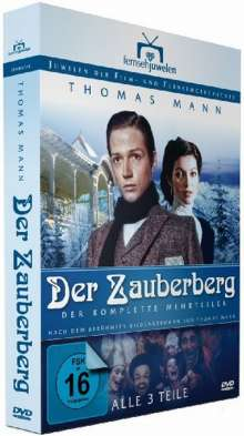 Der Zauberberg (1981), 4 DVDs