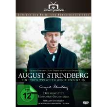 August Strindberg - Ein Leben zwischen Genie und Wahn Teil 1-6, 2 DVDs